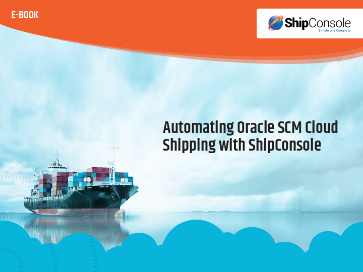 Oracle SCM Cloud Shipping Automation Ebook